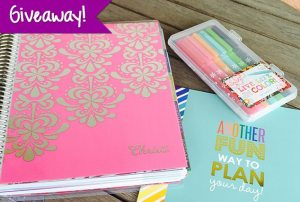 Erin Condren Life Planner Review & Giveaway!