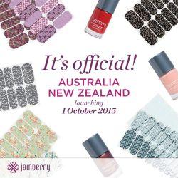 Jamberry Nails Australia New Zealand