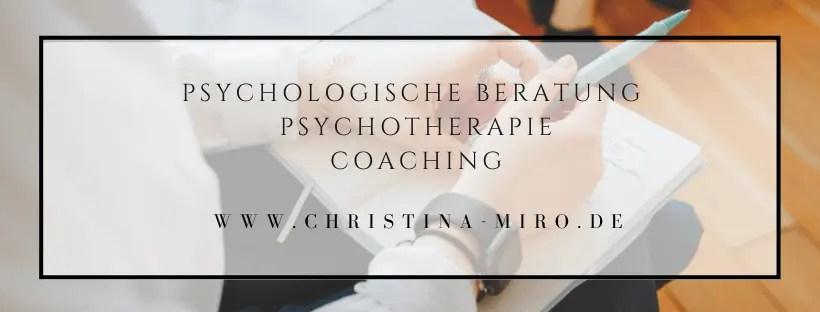 Psychologische Beratung - Coaching - Psychotherapie
