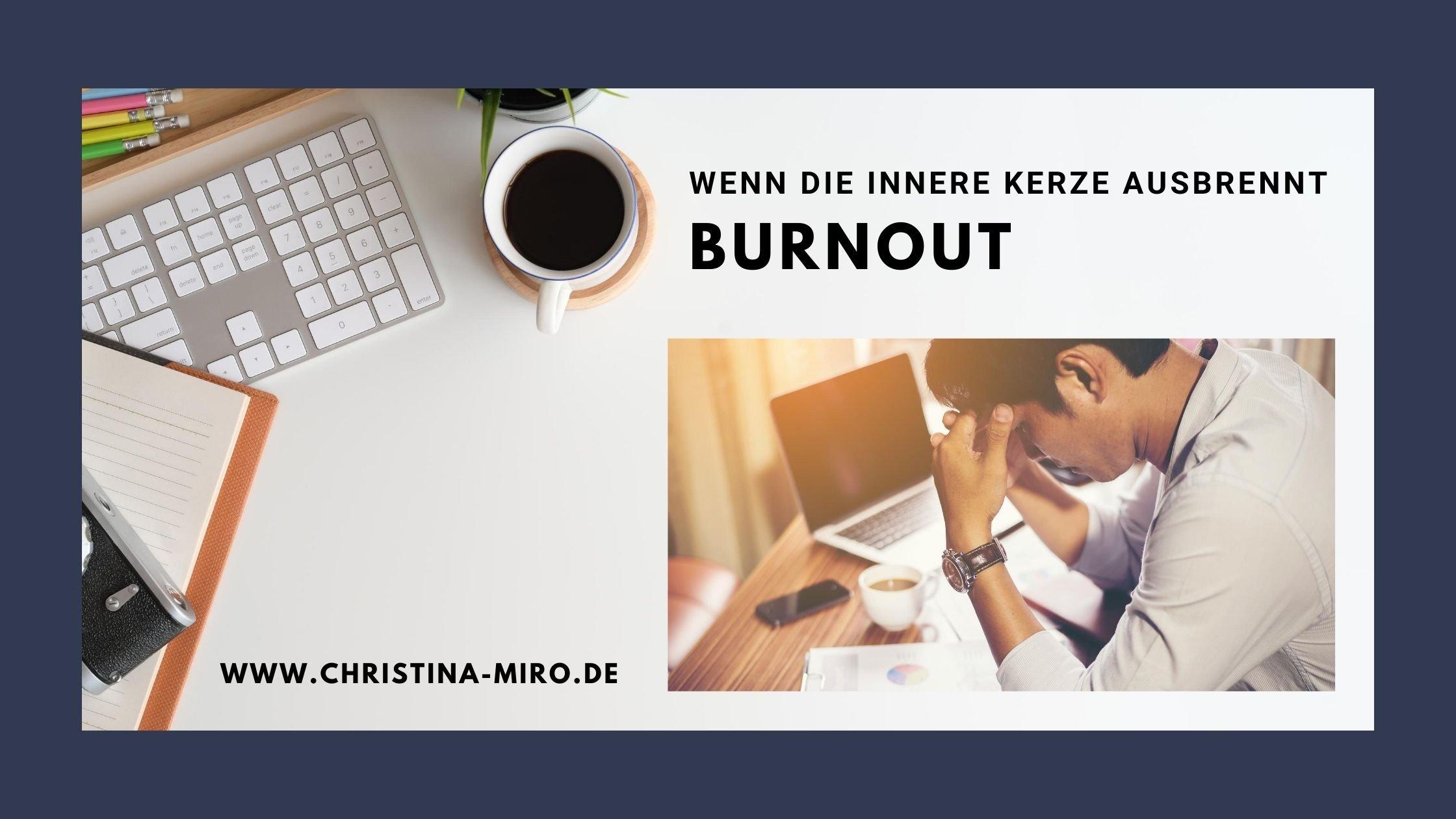 Burnout - Psychologische Online Beratung
