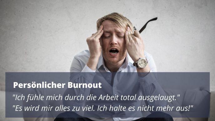 Persönlicher Burnout - Psychologische Online Beratung