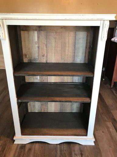 Faux Wood Panel Back