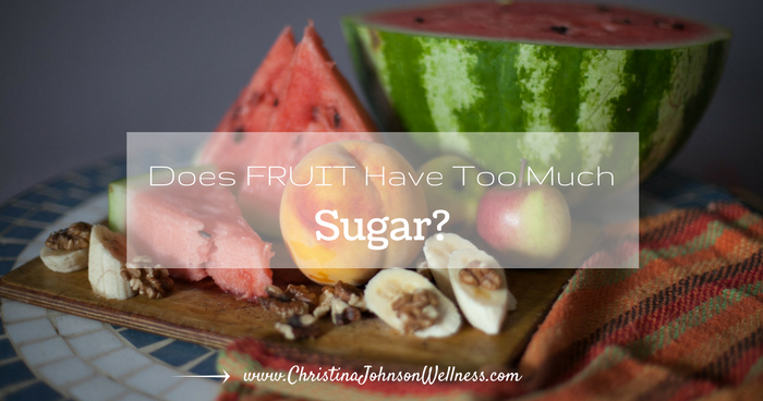 Does Fruit Have Too Much Sugar?