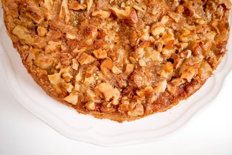 Apfelkuchen zur Apfelverwertung