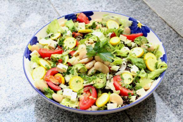 Bunter Sommer Salat