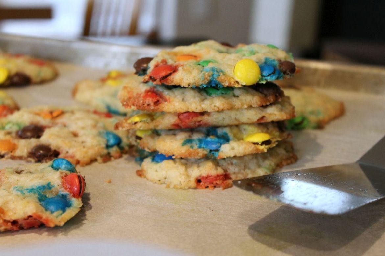 M&M Cookies ohne EI