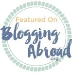 Featured on BloggingAbroad.org