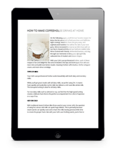 blog copywriting on ipad