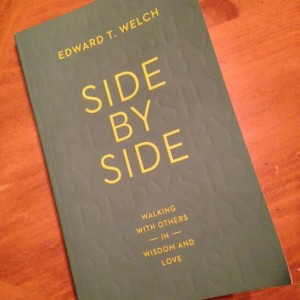 Side by Side by Edward T. Welch   #bookschristineread