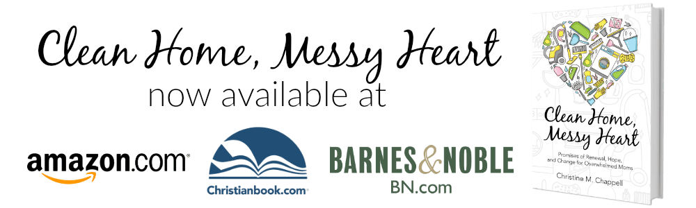 Clean Home, Messy Heart Now Available