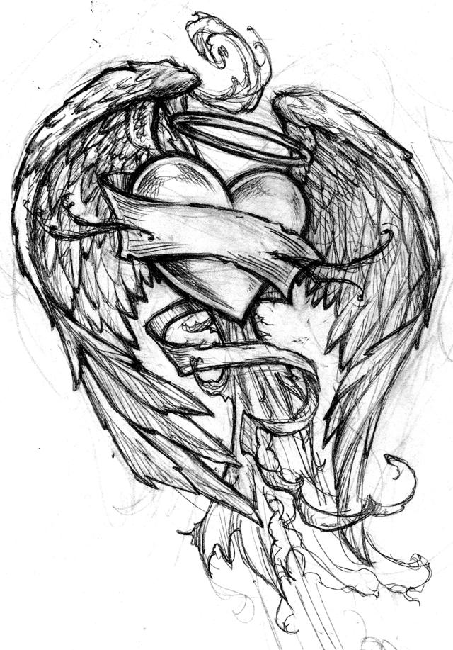 jimmyz_tattoo_heartsBW