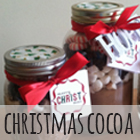 Christmas Cocoa | DIY gift with printable Christmas Tag