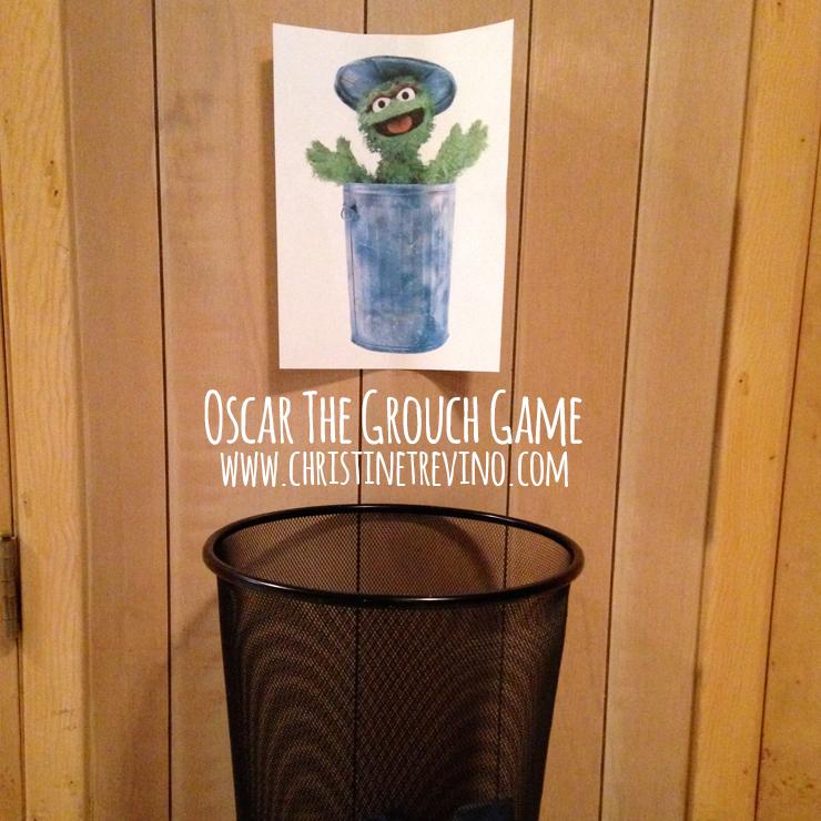 Oscar The Grouch Game