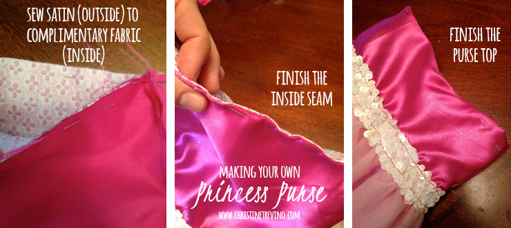Sew the inside to the outside