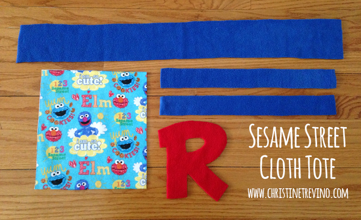 Pieces for Sesame Street Cloth Tote