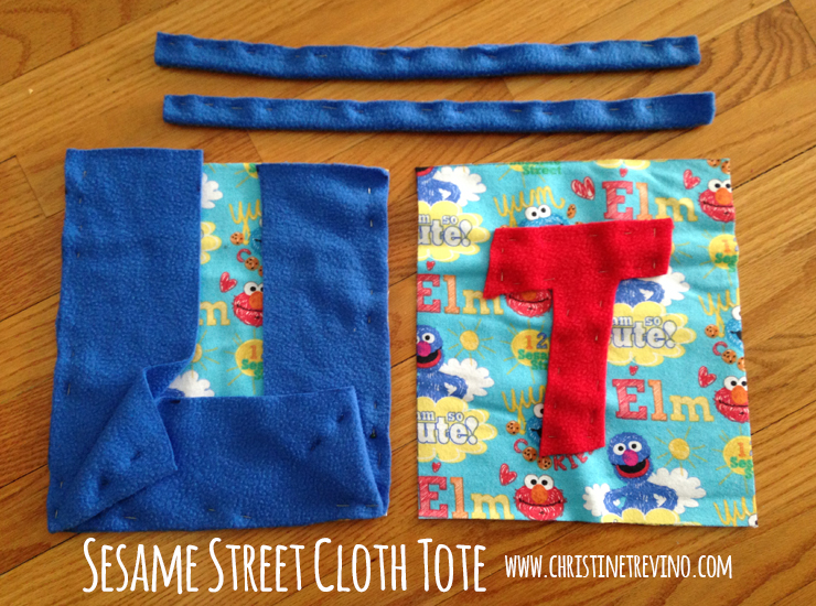 Pinned Pieces Sesame Street Cloth Tote