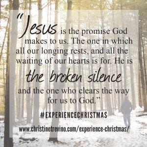 Jesus is the Promise