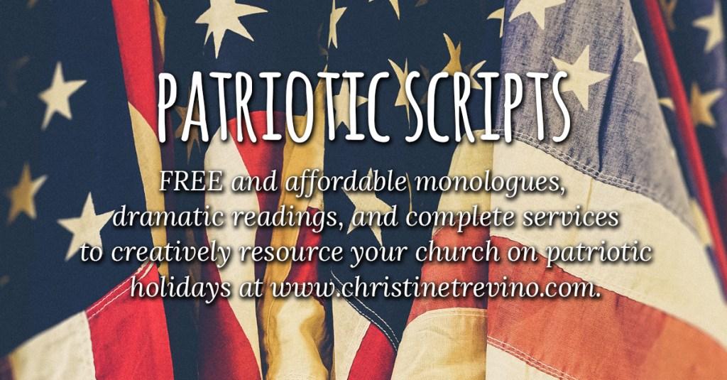 Patriotic Scripts - Christine Trevino