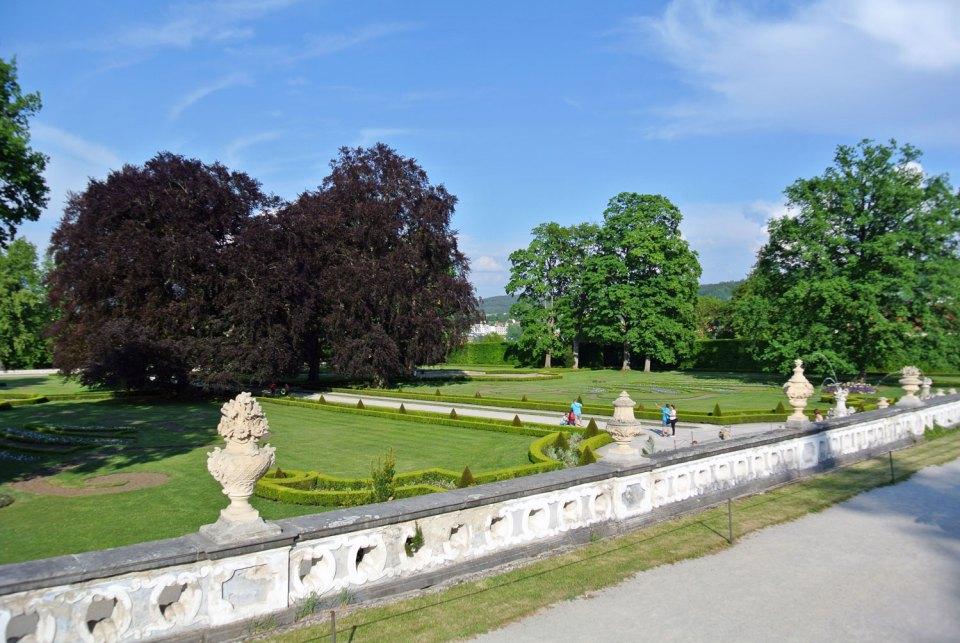 Schlosspark Český Krumlov