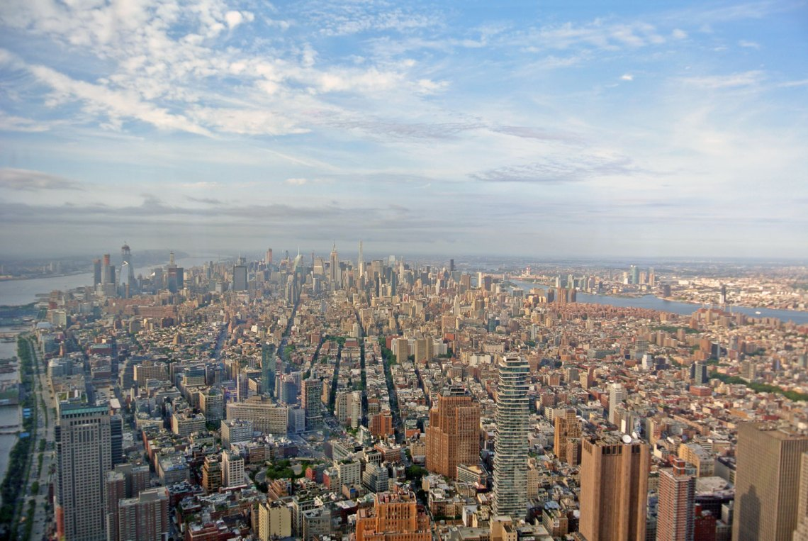 Aussicht One World Observatory New York