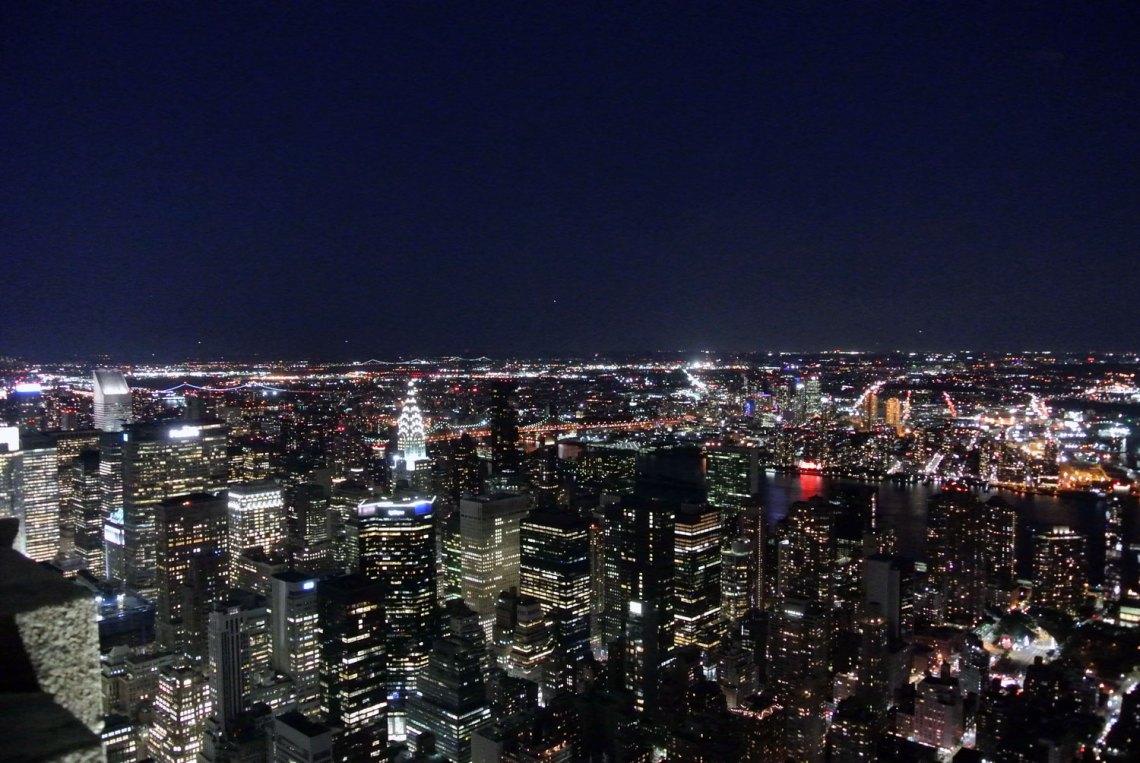 Aussicht Empire State Building New York