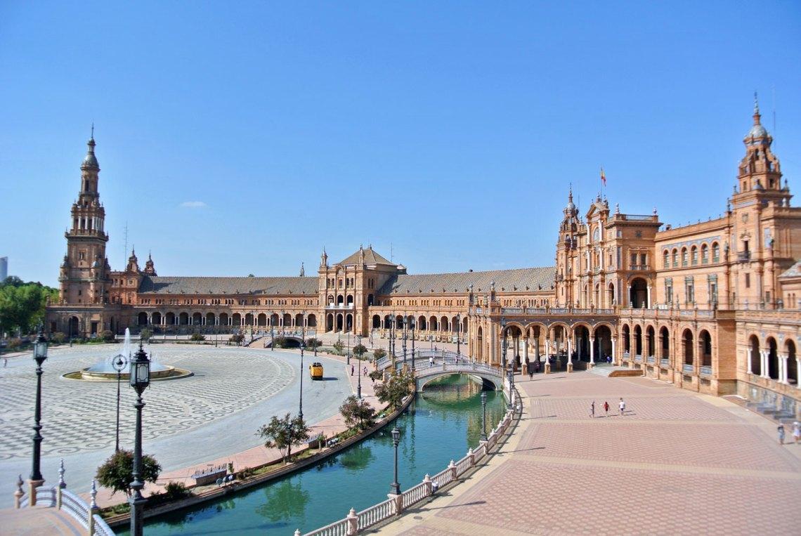 Plaza de España Sevilla Andalusien