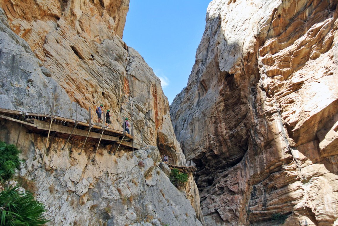Rundreise Andalusien Caminito del Rey