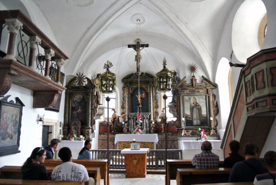 Kapelle Burg Hohenwerfen
