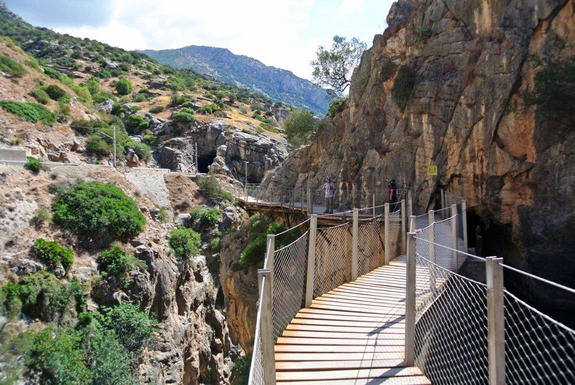 Caminito del Rey Andalusien Spanien