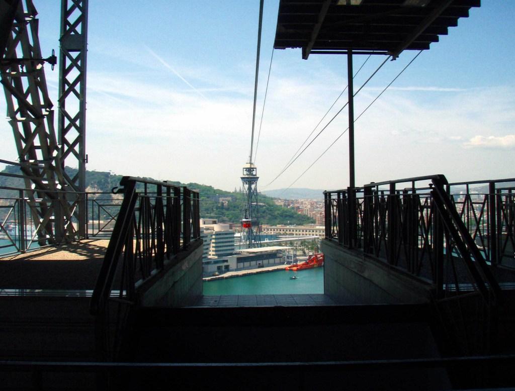 Seilbahn auf Montjuic Barcelona