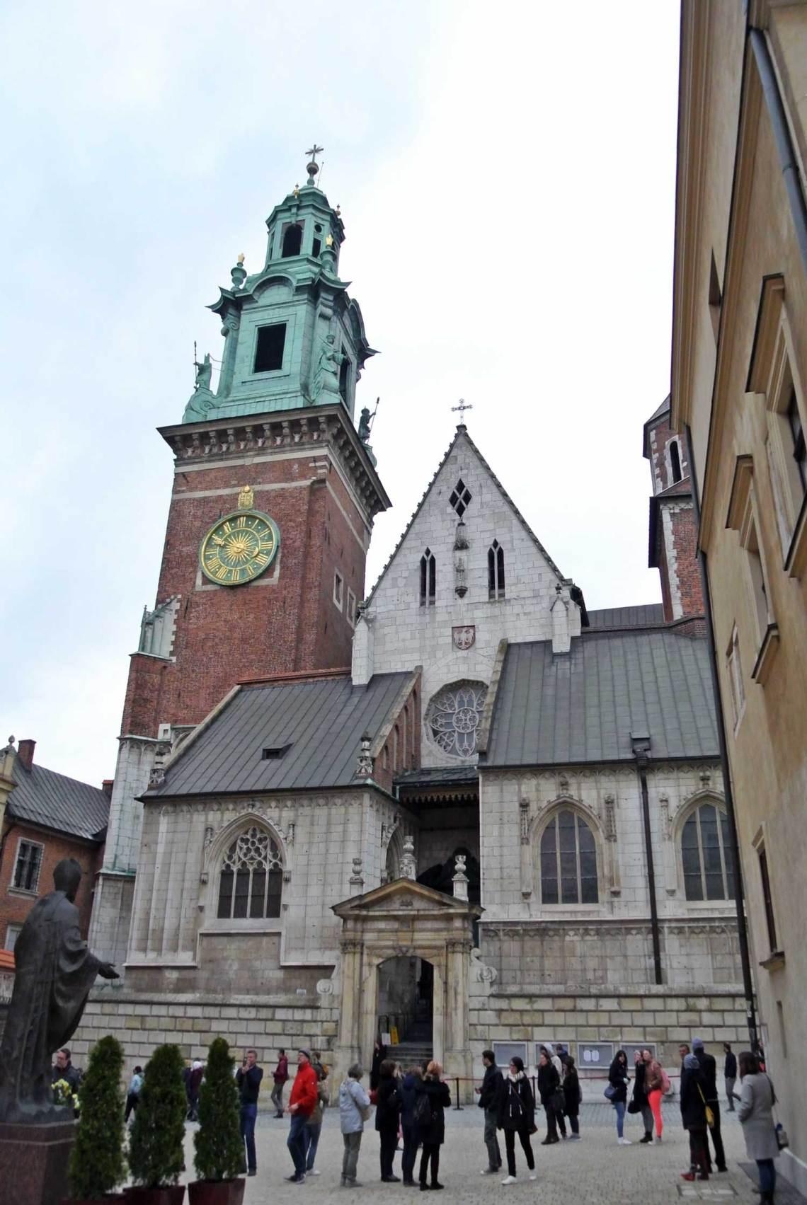 Katedra Sw. Stanislawa I Waclawa Krakau