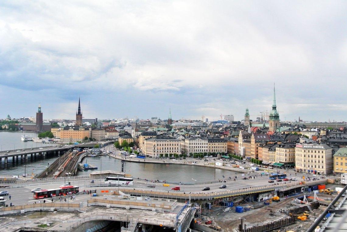 Ausblick Fjällgatan Stockholm