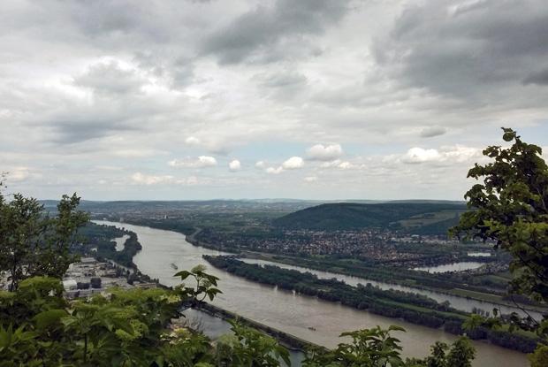 Ausblick vom Leopoldsberg