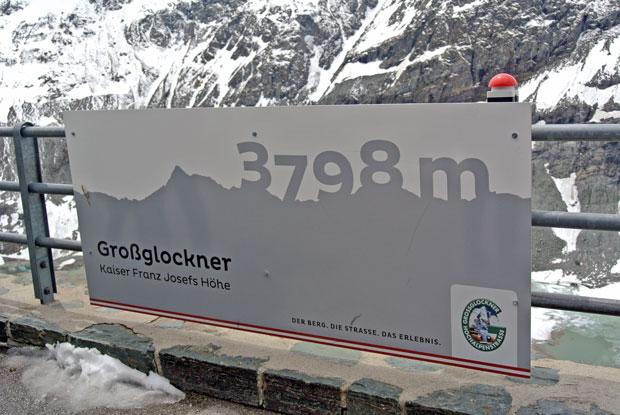 Großglockner Hochalpenstraße Kaiser-Franz-Josefs-Höhe