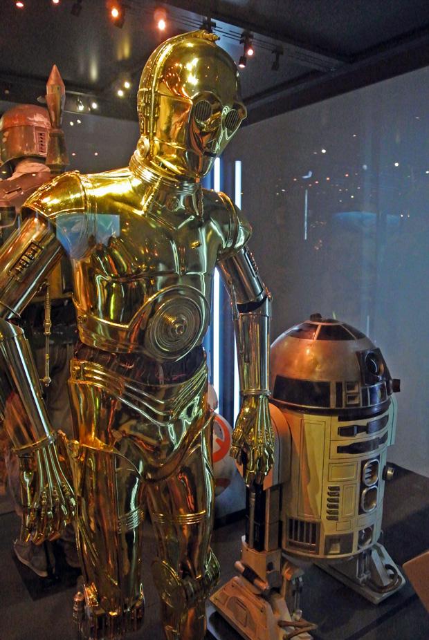 Star Wars Identities Wien C-3PO und R2D2