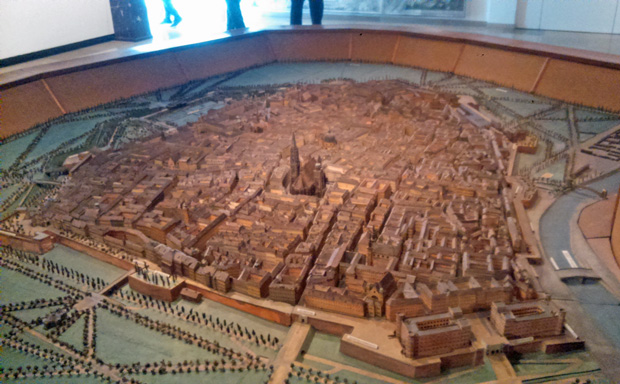 Wien Museum Stadtmodell