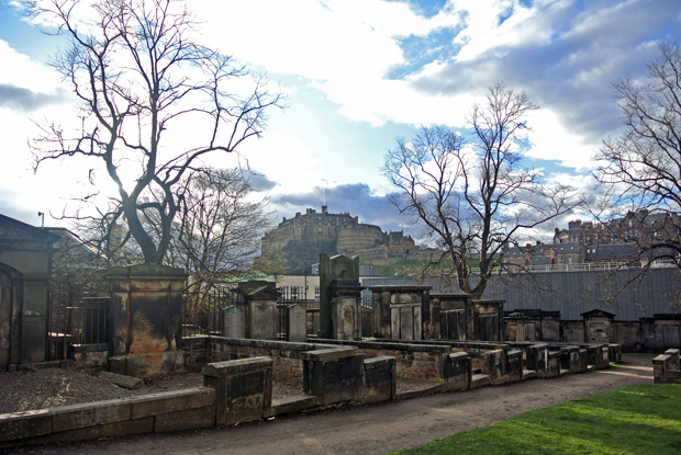 Greyfriar's Graveyard Edinburgh