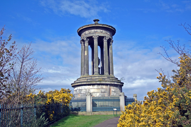 Dugald Stewart Monument Edinburgh