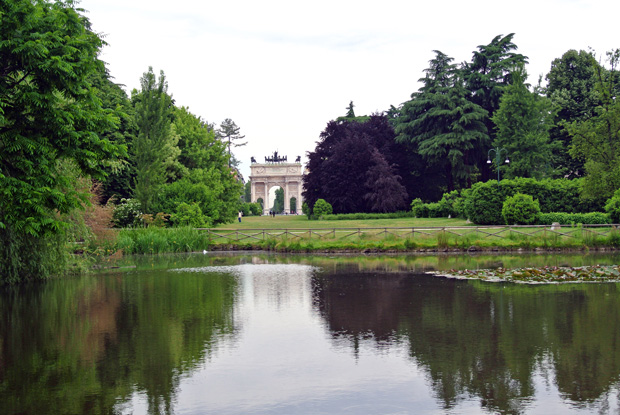 Parco Sempione Mailand