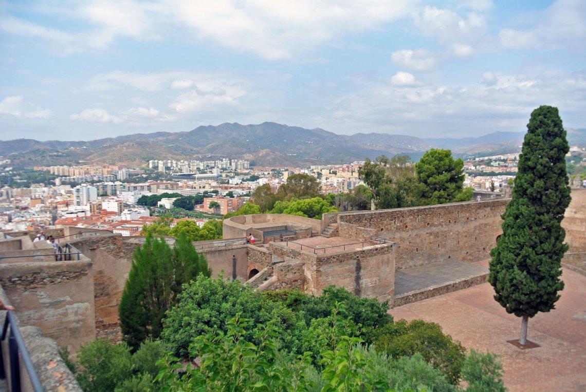Castillo de Gibralfaro Malaga