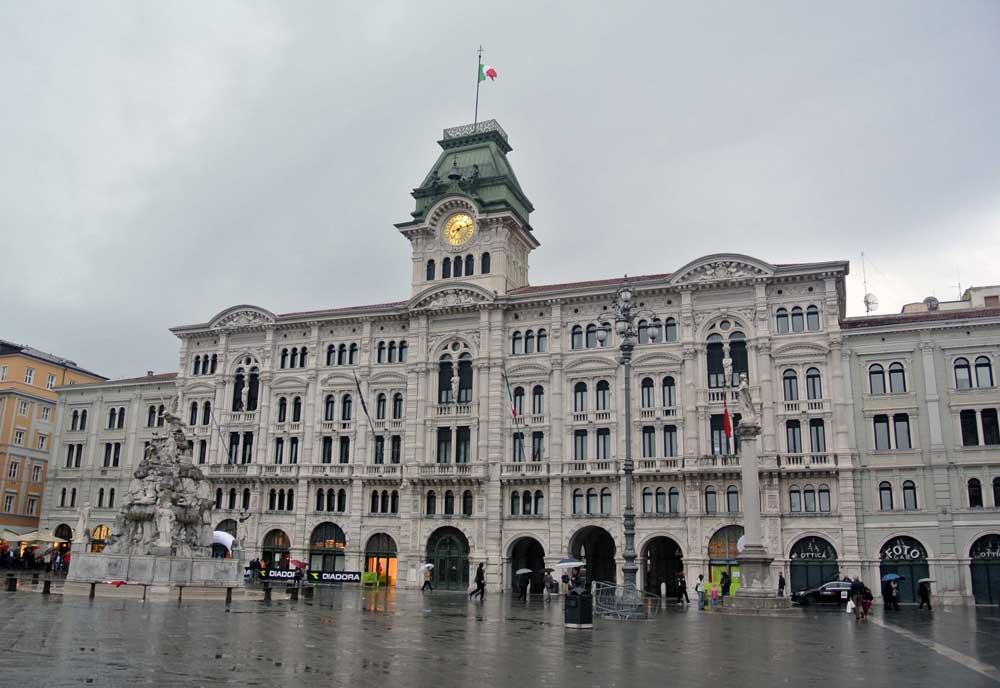 Palazzo del Municipio Triest