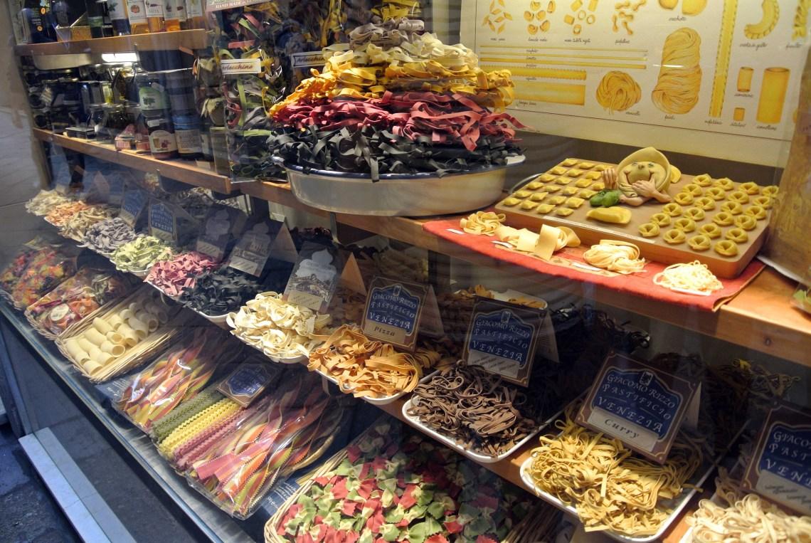 Pasta in Venedig