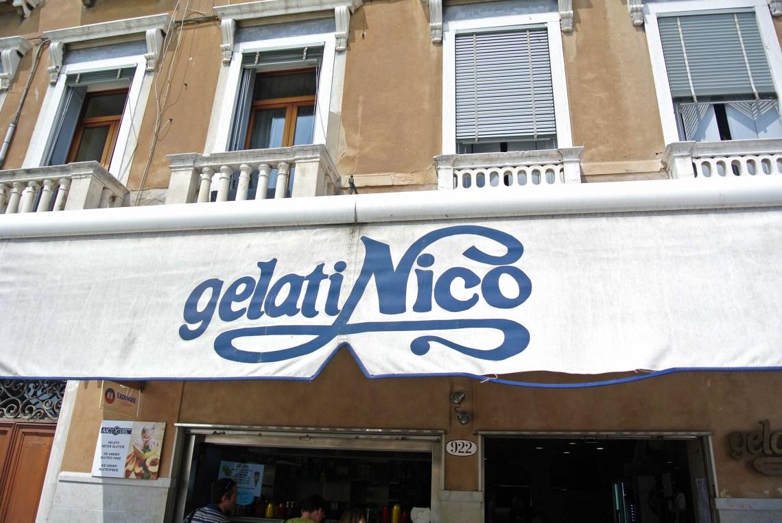 Gelati Nico in Venedig