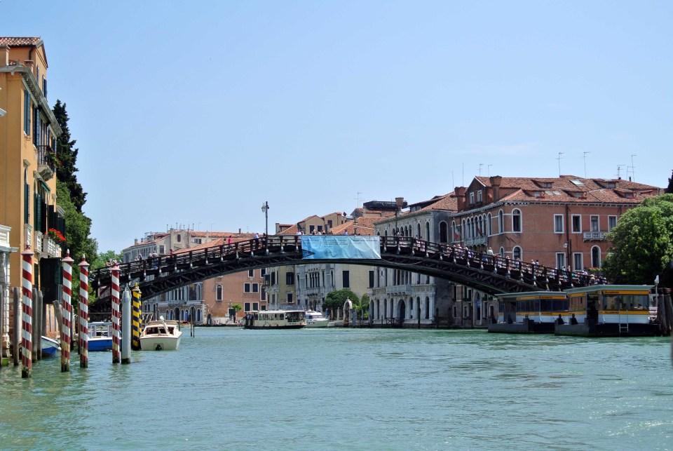 Brücke über den Canale Grande in Venedig