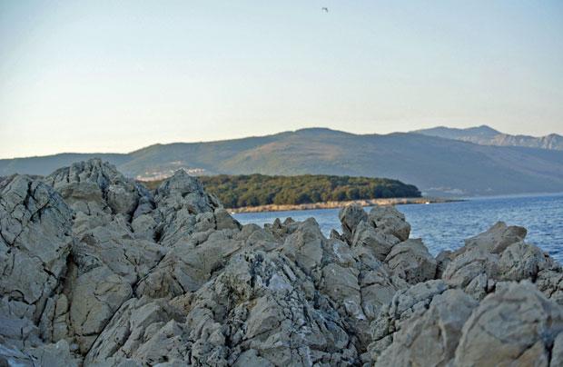 Die Küste in Sveta Marina