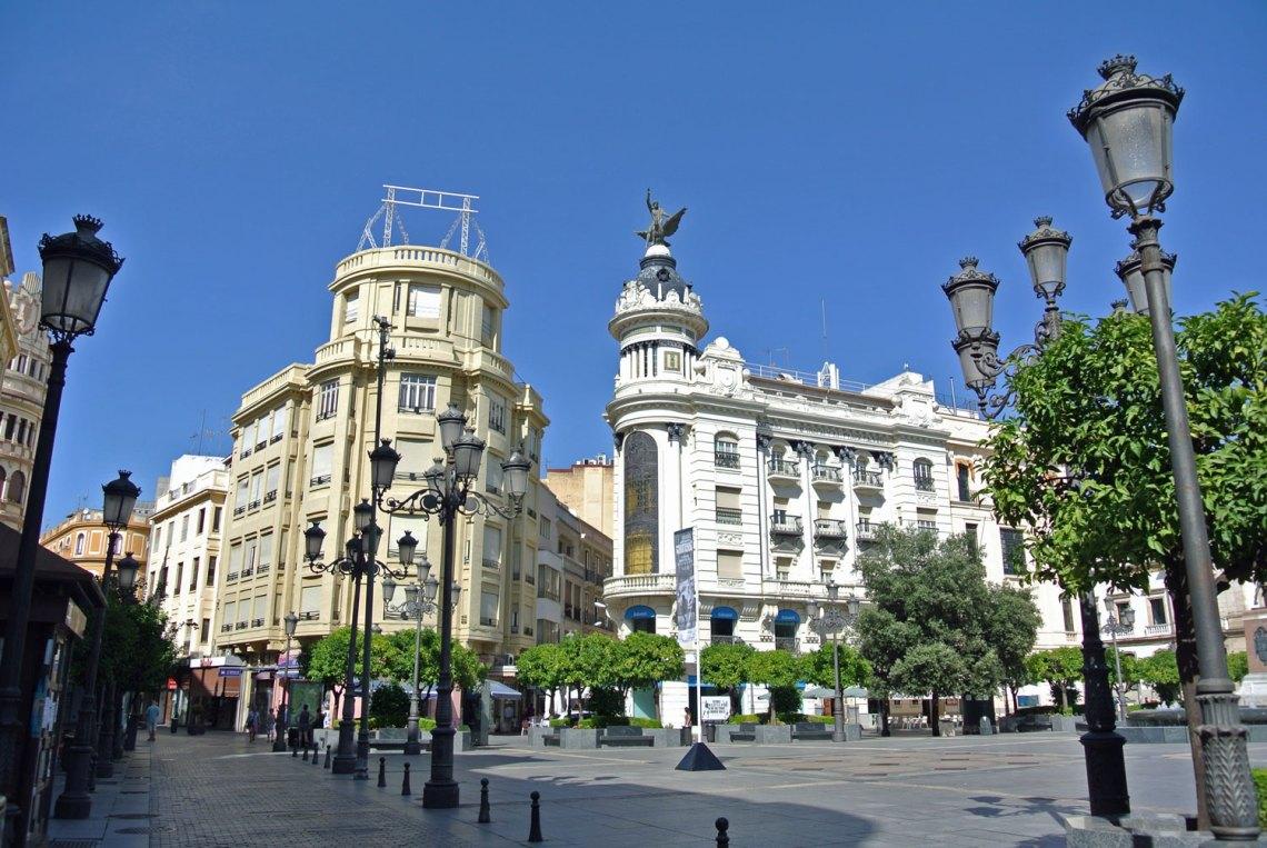 Plaza Tendillas Cordoba Andalusien