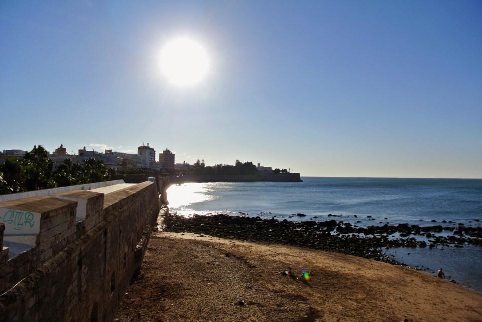 Cadiz am Meer in Andalusien, Spanien