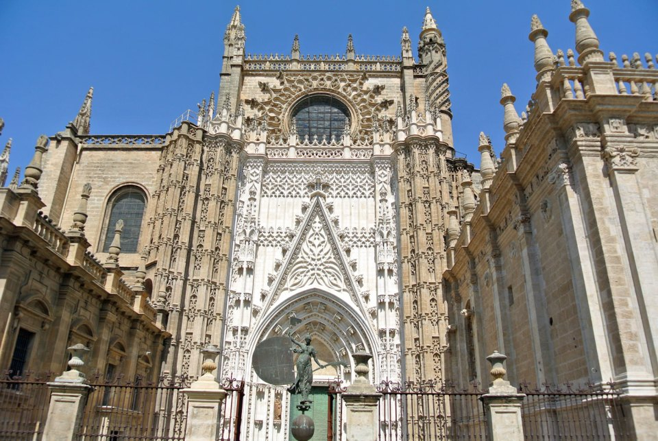 Catedral Giralda in Andalusien, Spanien