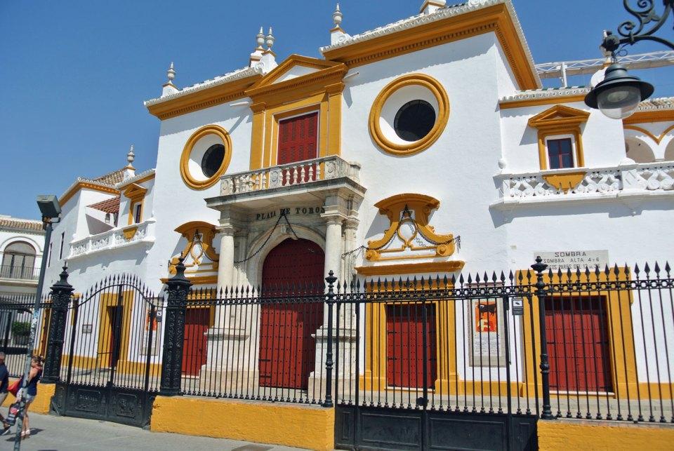Plaza de Toros in Andalusien, Spanien