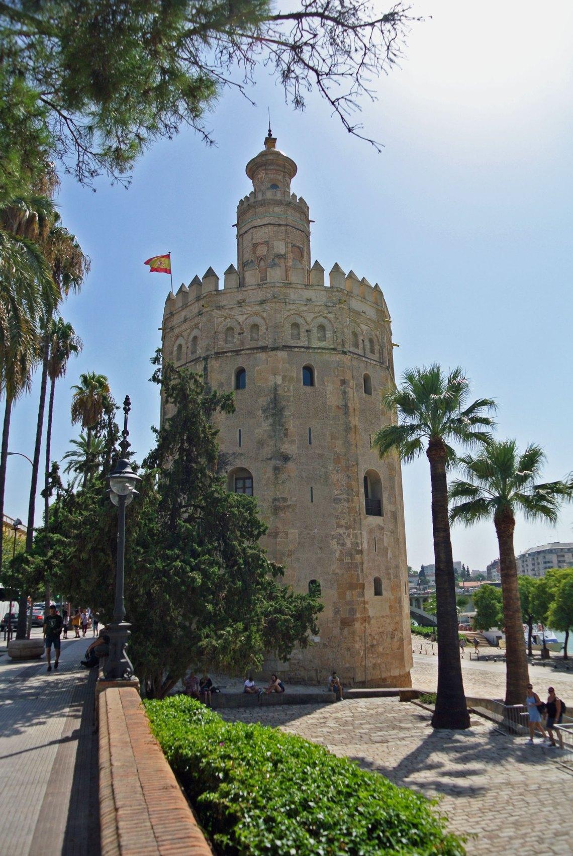 Torre del Oro in Andalusien, Spanien